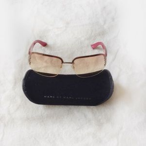 MARC by MARC JACOBS Pink Brown Sunglasses
